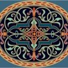 Victorian Ornamental Cushion Needlepoint Canvas (ar9-vc-23c)
