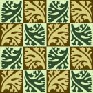 Collage Leaves 2 Pattern Rug Needlepoint Canvas (ar18-068r)