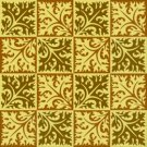 Collage Leaves 3 Pattern Rug Needlepoint Canvas (ar18-100r)