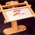 "Needlework Stand with Frame EZ Stitch (sit-on model) 12"" maximum width"