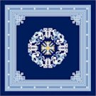 Pekin Blue Needlepoint Canvas Caron Collection (cc-5002-18&13)