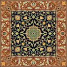 William Morris Hammersmith Carpet Rug Needlepoint Canvas (wm01r)