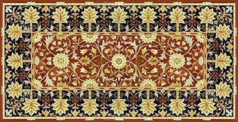 William Morris Hammersmith Cushion Little Flowers Needlepoint Canvas (wm02c)