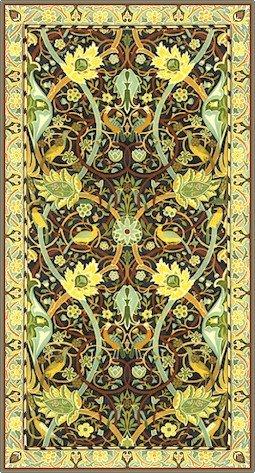 William Morris Bullerswood Carpet Rug Needlepoint Canvas