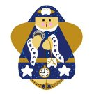 Needlepoint Canvas Tooth Fairy Angel by In Good Company (LAS005)