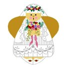 Needlepoint Canvas Wedding Angel by In Good Company (LAS006)