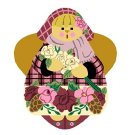 Needlepoint Canvas Christmas Rose Angel by In Good Company (LAS039)