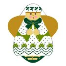 Needlepoint Canvas St. PattY Angel by In Good Company (LAS054)
