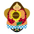 Needlepoint Canvas Hope Angel by In Good Company (LAS090)
