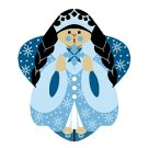 Needlepoint CanvasIce Queen Angel by In Good Company (LAS102)