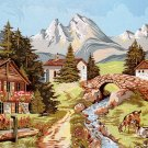 Needlepoint Canvas Paysage alpestre (margot-163-4304)