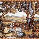 Needlepoint Canvas by Margot Vedure au Muletier XVIII The Mile Cart (margot-223-2807)