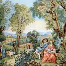 Needlepoint Canvas by Margot Verdure Romantique (margot-253-2913)