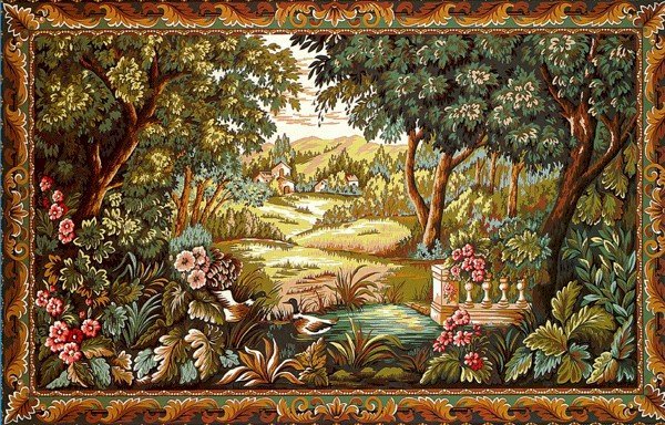 Needlepoint Canvas by Margot Verdure aux Canards d'apres Verdures du XVIII (margot-253-2910)