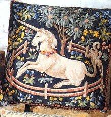 Needlepoint Canvas by SEG Medieval Captured Unicorn (seg-1904-20)