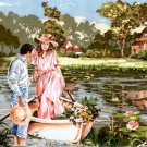 Needlepoint Canvas by SEG Berge romantique (seg-932-104)