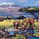 Needlepoint Canvas by SEG Kilimanjaro (seg-932-100)