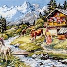 Needlepoint Canvas by SEG L'ete au chalet (seg-932-92)
