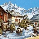 Needlepoint Canvas by SEG Le berger et l'enfant (seg-932-68)