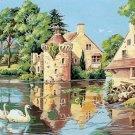 Needlepoint Canvas by SEG Le vieux moulin (seg-932-67)