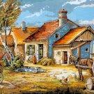 Needlepoint Canvas by SEG Scene rurale (seg-932-52)