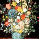 Needlepoint Canvas by SEG La Vase Bleu d'apres J.Brueghel (seg-940-07)