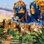 Needlepoint Canvas by SEG La vallee des kasbahs (seg-981-150)