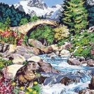 Needlepoint Canvas by SEG Le ponts des marmotes (seg-981-138)