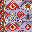 Needlepoint Canvas Kelim Armenian Cushion