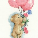 Toffee with Balloons cross stitch pattern by Heritage Crafts
