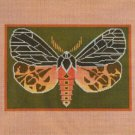 Needlepoint Canvas by Janet Watson Virgin Tiger Moth  (fdp-JW-120)