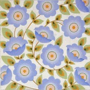 Needlepoint Canvas by Janet Watson Morning Glory (fdp-JW-132)