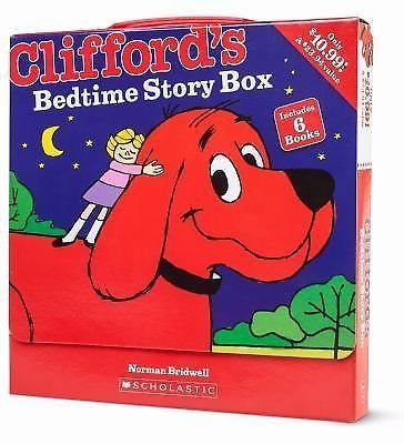 CLIFFORD'S BEDTIME STORY BOX - NORMAN BRIDWELL (PAPERBACK) NEW