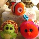 NEW  LOT 3 TY Beanie  Babies: Zoom, Splashy, Mermaid and Sparkle,