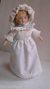 Vintage Avon Victorian Collector Doll 1983 Handpainted Porcelain