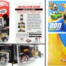 Hot Wheels - Convoy Custom Collector Edition + 2011 Series catalog - Kmart Mail In - Free shipping