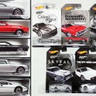 Hot Wheels - 007 James Bond - 2015 Walmart exclusive - Complete set of 5 - New - Free shipping