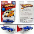 Hot Wheels - '65 Pontiac GTO blue - 2006 Holiday Rods Limited Edition - New - Free shipping
