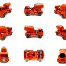 Lesney Matchbox - ERF Cement Mixer - 26a Orange GPW - Vintage 50s - Free shipping