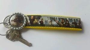 Walking dead Key Chain FOB - Walking Dead Lanyard - Walking Dead Key fob