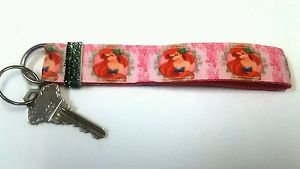 Ariel key Chain FOB - Little Mermaid wristlet - Mermaid lanyard