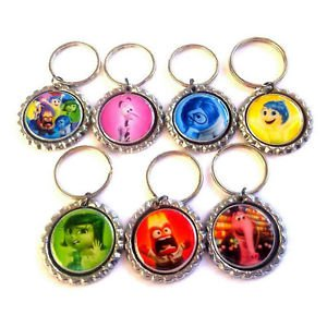 Inside Out Party Favor Key chains - MANY AVAILABLE!