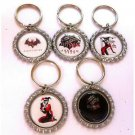 Harley Quinn Party Favor Key chains - MANY AVAILABLE!