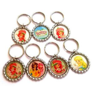 Strawberry Shortcake Party Favor Key chains - MANY AVAILABLE!