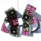 Army Hair Bow - Army Strong Hair Clip Handmade