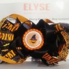 Pumpkin Hair Bow - Pumpkin Halloween Stacked bow