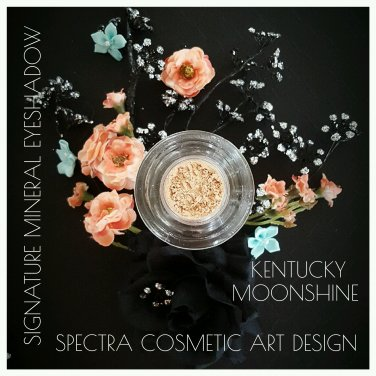 Spectra Cosmetic Art Design~ Mineral Loose Eye Shadow~KENTUCKY MOONSHINE 3ml Jar