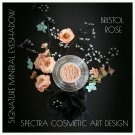Spectra Cosmetic Art Design~Mineral Loose Eye Shadow~ BRISTOL ROSE 3ml Jar