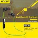 AWEI A990BL Universal Wireless Bluetooth 4.0 Sport Earphone In Ear Headset