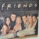 Friends TV Show Black Shoulder Purse with Crystal Accents